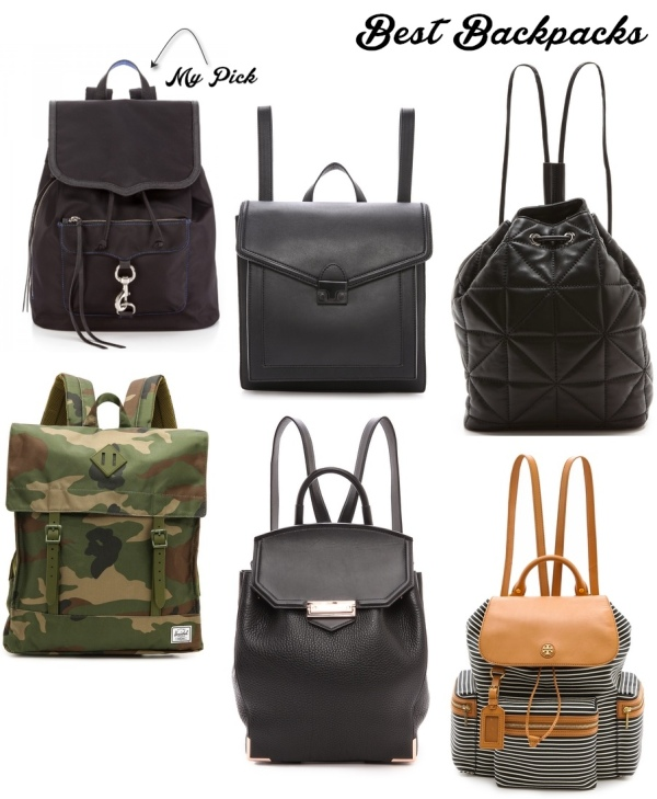 back pack round up