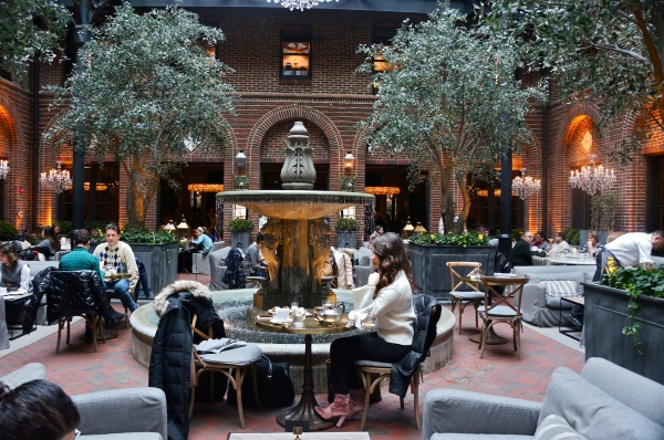 Restoration Hardware 3 Arts Club Cafe Chicago